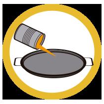 Rock Paella - Modo de empleo - Verter en la paellera