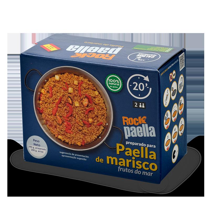 Rock Paella - Pella de marisco