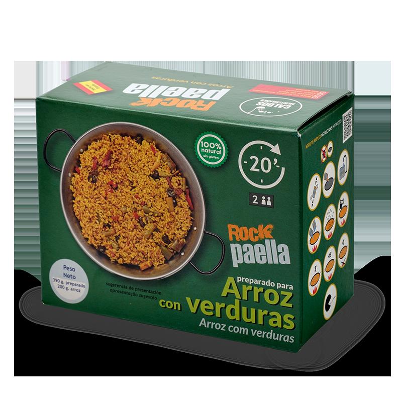 Rock Paella - Arroz con verduras
