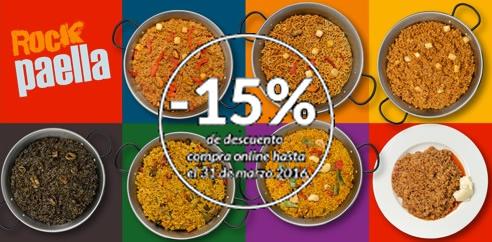 Oferta 15% Descuento hasta el 31 de marzo de 2016